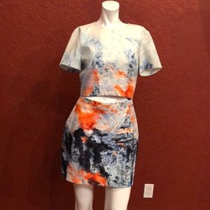 BEC & BRIDGE  Fire & Ice Tee Dress Size 8